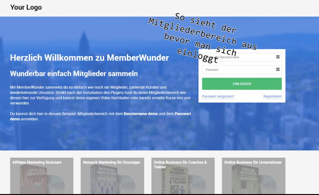 Memberwunder Test